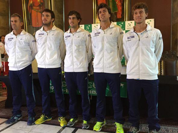 equipo argentino de copa davis polonia 2016