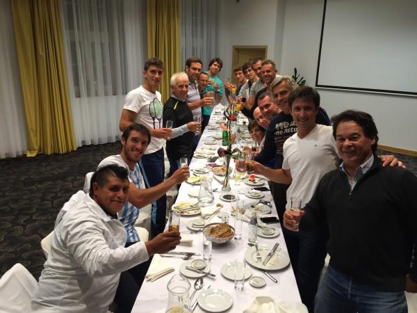 copa davis argentina cena polonia