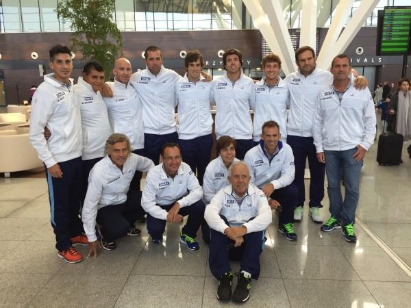 copa davis argentina llega a polonia