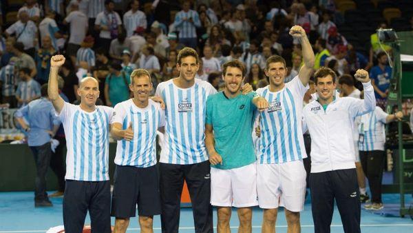 Copa Davis. Argentina a la final!!!!