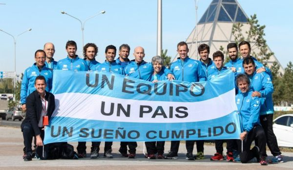 copa davis equipo argentina kazajistan 2017